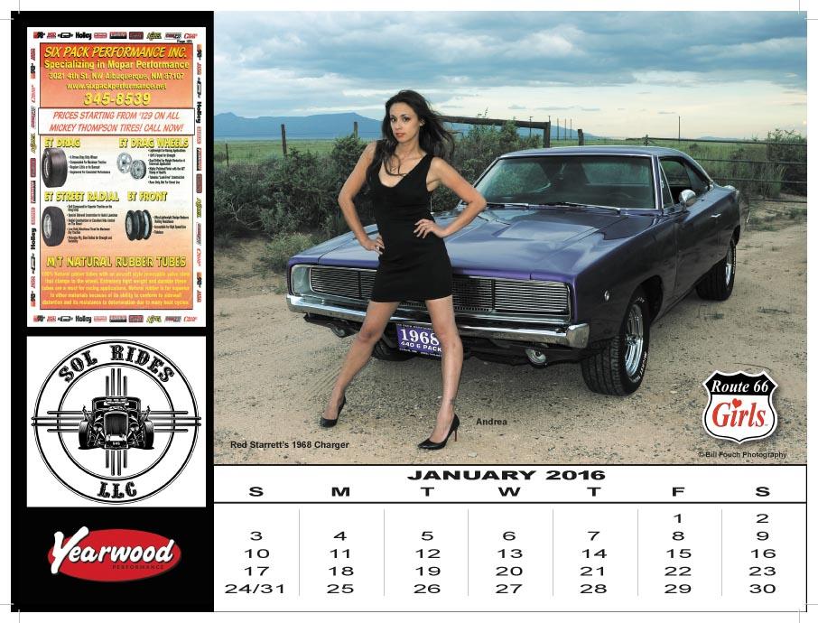 jeep girl calendar 2018